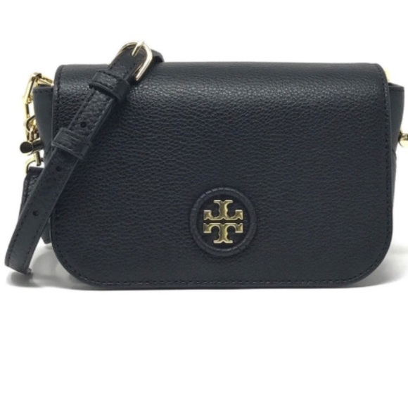 821b6b31c41 Tory Burch Whipstitch Logo Mini Bag in Black